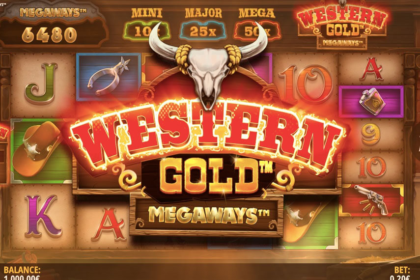 слот Western Gold Megaways