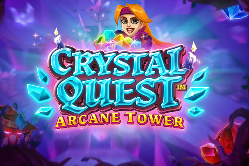 слот Crystal Quest Arcane Tower.
