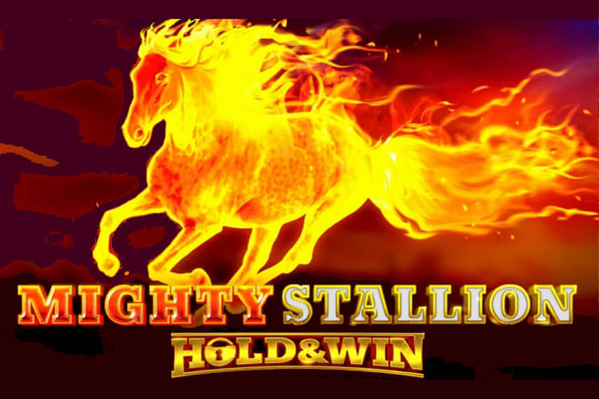 Слот Mighty Stallion Hold and Win.