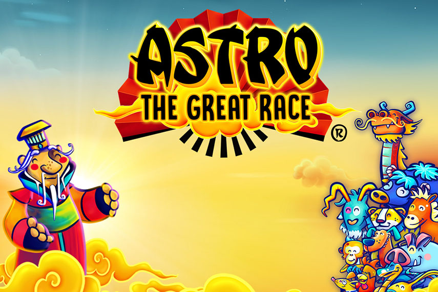 слот Astro The Great Race.