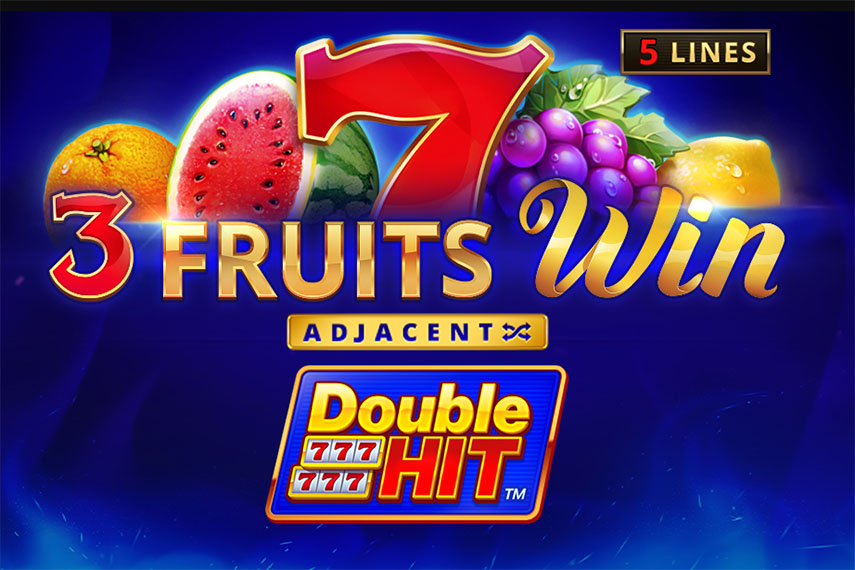 слот 3 Fruits Win: Double Hit.