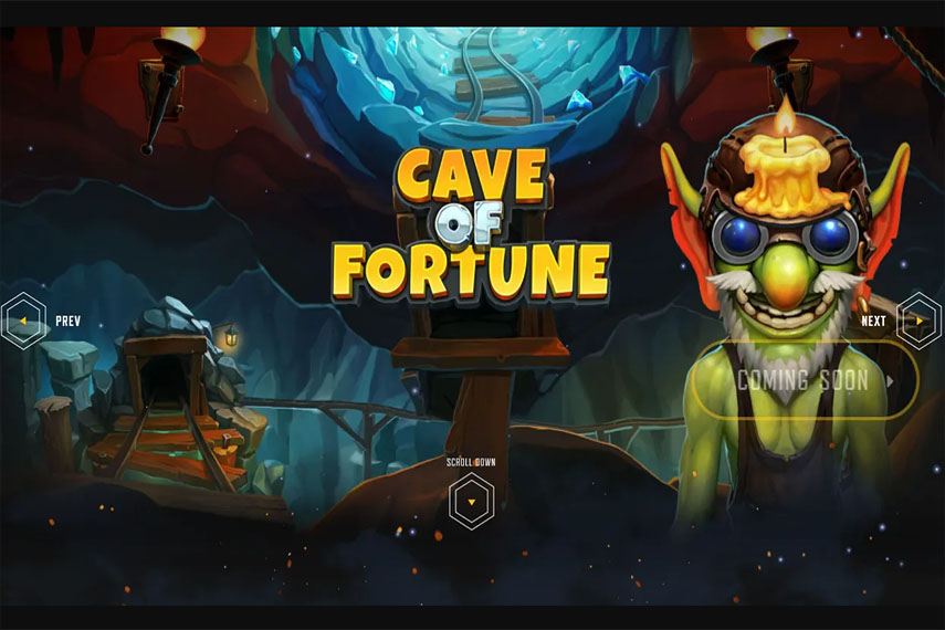 слот Cave of Fortune.