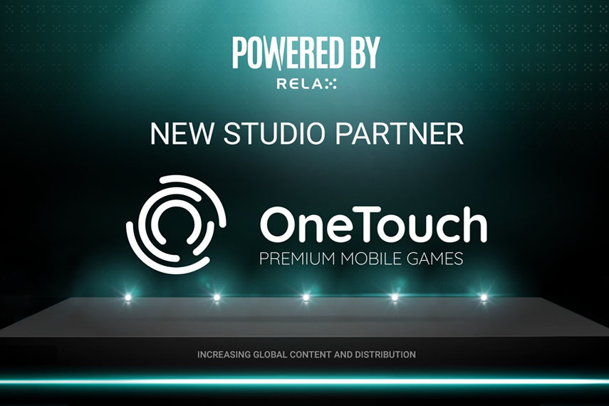 Relax Gaming сотрудничает с OneTouch Technology.