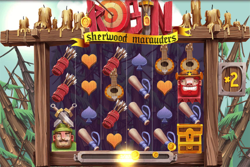слот Robin - Sherwood Marauders.