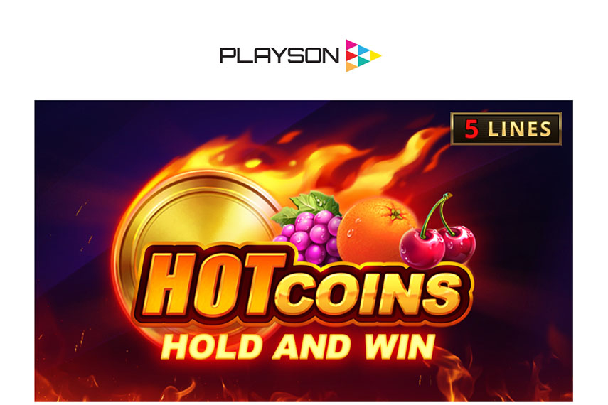 слот Hot Coins: Hold and Win.