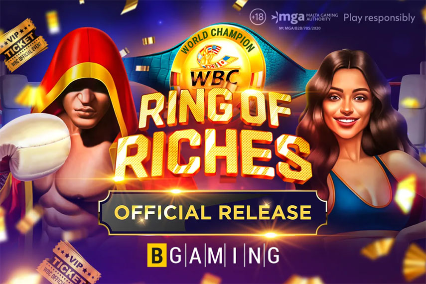 слот WBC Ring of Riches.