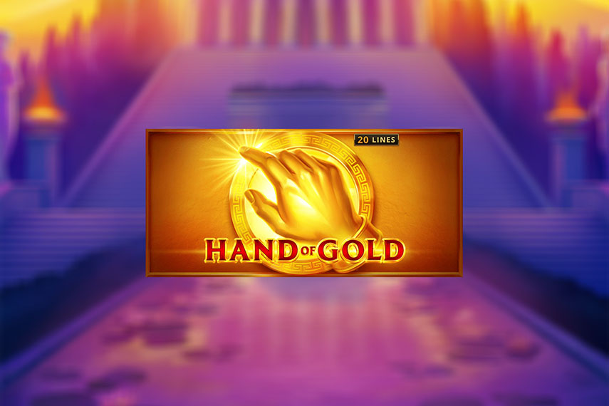 слот Hand of Gold.