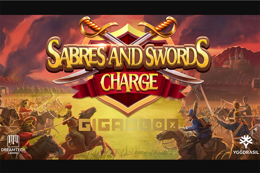 слот Sabers and Swords Charge GigaBlox.